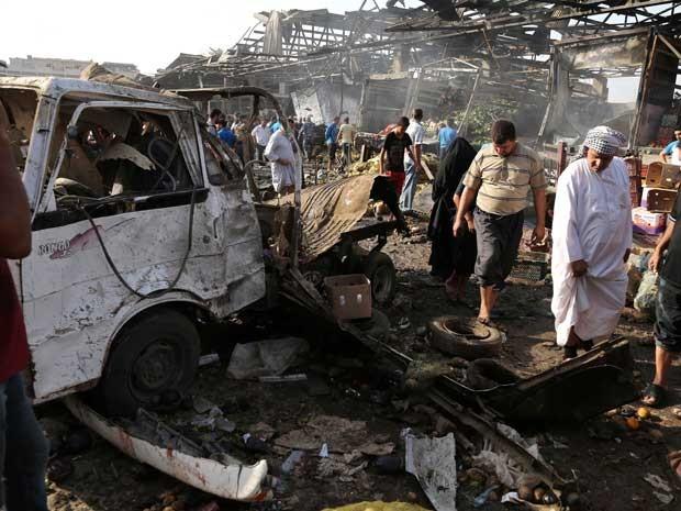 Resultado de imagem para atentado em bagda