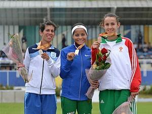 Atleta de Poços de Caldas ganha medalha de ouro no íbero-americano. (Foto: Confederação Brasileira de Atletismo)