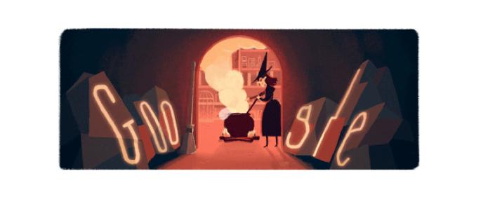 Google preparou uma série de doodles para comemorar o Halloween (Foto: Reprodução/Google)