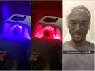 Lucas Lucco faz tratamentos de beleza: 'Tudo que é coisa para a pele'