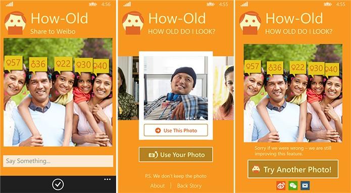 Microsoft How Old tenta adivinhar a idade das pessoas e fez sucesso na web (Foto: Divulgação/Windows Phone Store)