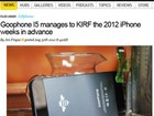 Empresa chinesa lança cópia do iPhone 5 antes da Apple