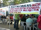 Eletricitrios paralisam servios por tempo indeterminado, no Amazonas