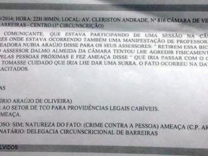 Jovem denuncia vereadora na Bahia (Foto: Fernando Pop/ www.fernandopop.com )