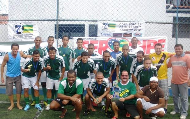 Jardim Esperança F.C. foi o Campeão da Copa Sergipe (Foto: Divulgação/FSFS)