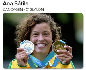 Peso do Ouro - Ana Sátila - Canoagem - C1 Slalom (Foto: GloboEsporte.com)