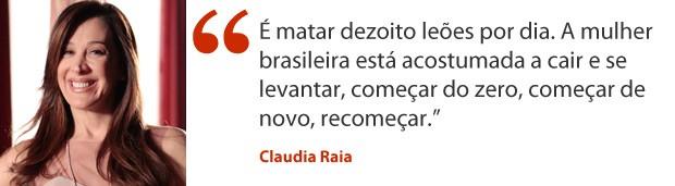 Claudia Raia (Foto: Salve Jorge/TV Globo)