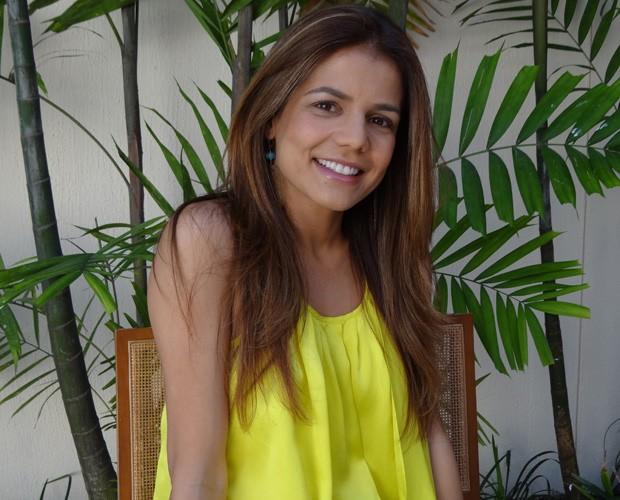 Nivea Stelmann relembra concurso no Filhos do Domingão (Foto: Domingão do Faustão / TV Globo)