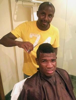 Feijão corte de cabelo Flamengo (Foto: Arquivo Pessoal)