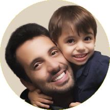 Beto Lima é publicitário e desde 2013 escreve sobre família no @eupapai, perfil de Instagram criado por ele para trazer a visão paterna sobre a criação dos filhos. (Foto: Divulgação)