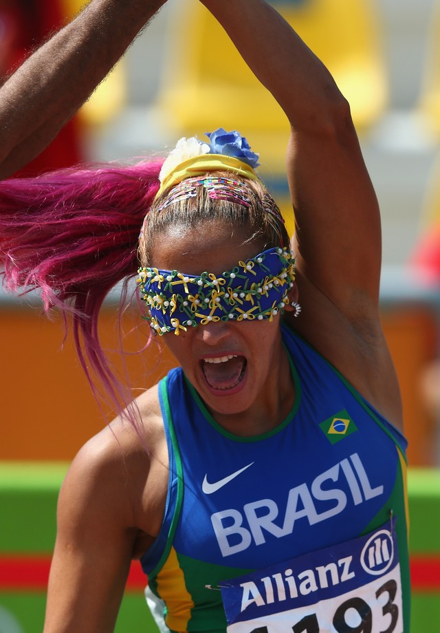 Terezinha Guilhermina (Foto: Getty Images)