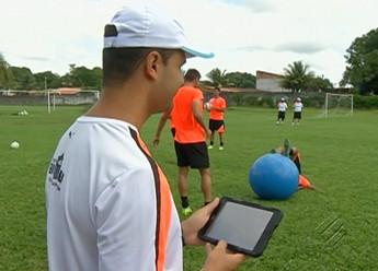 Adriano Lima, Paysandu (Foto: Reprodução/TV Liberal)