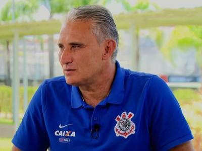 Tite, técnico do Corinthians (Foto: Reprodução SporTV)