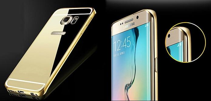 Capinha de metal para Galaxy S6 Edge (Foto: Divulgação/MiniInTheBox)