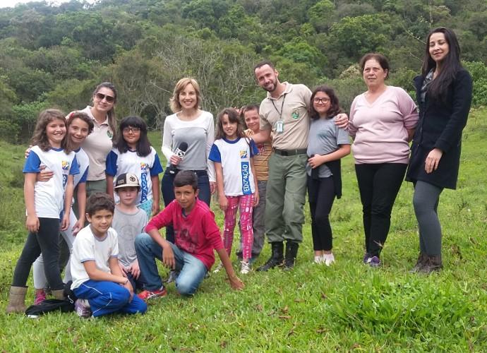 Segundo guarda do Parque, iniciativa é importante para o futuro do meio ambiente (Foto: Rio Sul Revista)
