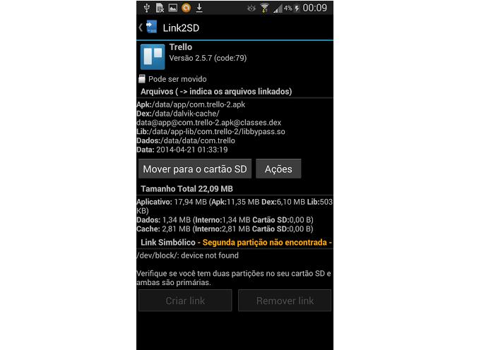 Selecione o aplicativo que deseja transferir (Foto: Reprodução/Thiago Barros)