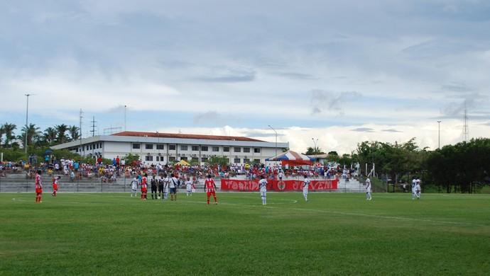 Estádio da Ulbra (Foto: Isabella Pina)