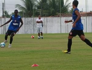 Jogadores do Santa Rita treinam em Marechal (Foto: Jonatha Melo/ Divulgação Santa Rita)