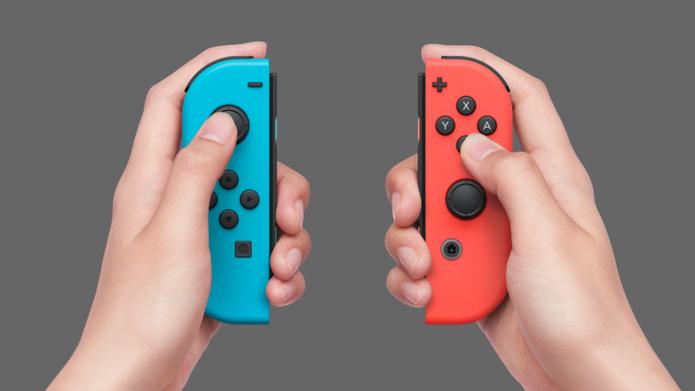 O Joy-Con ainda vem em versões coloridas (Foto: Divulgação/Nintendo)