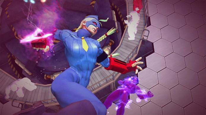 Decapre foi a misteriosa última personagem anunciada para Ultra Street Fighter 4 (Foto: Divulgação)