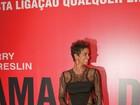 Grávida, Halle Berry lança filme em cinema na Zona Sul do Rio