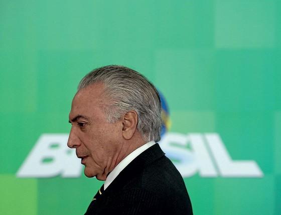 Michel Temer presidente do Brasil (Foto: Adriano Machado / Reuters)