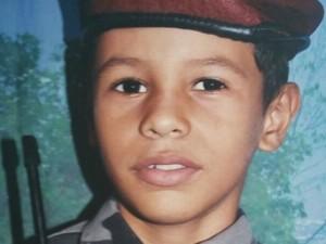 Menino de 10 anos caiu nas águas do Rio Juruá  (Foto: Arquivo da família)