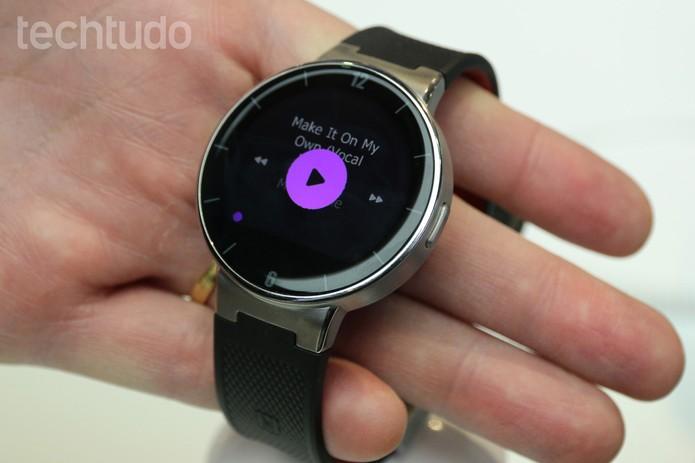 OneTouch Watch (Foto: Isadora Díaz/ TechTudo)