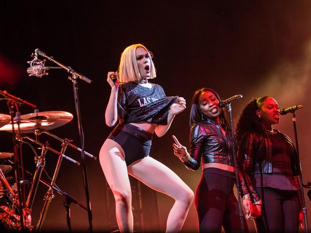 ROCK IN RIO USA: A cantora britânica Jessie J se apresenta no festival (Foto: Divulgação)