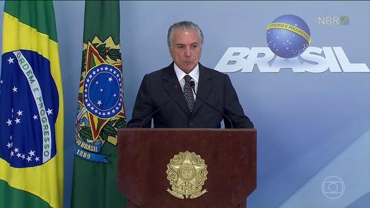 Temer orientou repasse de dinheiro da CEF e sabia de propina na Petrobras, diz Funaro
