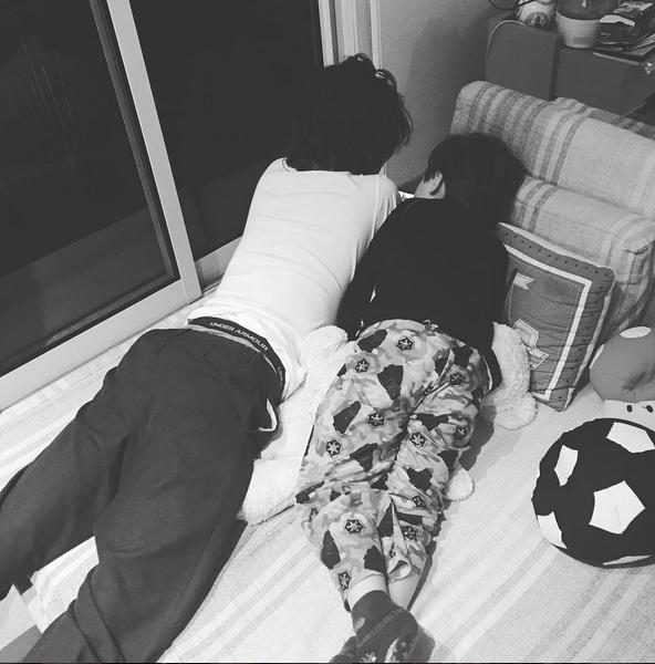 Lucas e Lorenzo, filhos de Luciana Gimenez (Foto: Reprodução/Instagram)