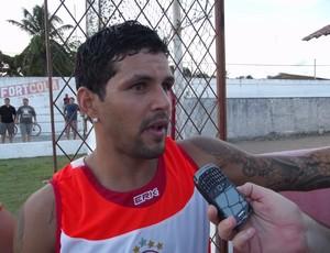 Atacante Rico, ex-Náutico, é um dos reforços do América-RN para a temporada 2013 (Foto: Jocaff Souza/GLOBOESPORTE.COM)