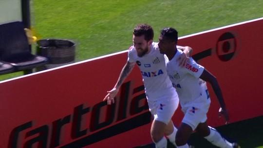 Lucas Lima vai bem no Cartola em vitória do Santos. Para surpresa dele mesmo!