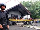 Morre menina de 2 anos ferida em ataque contra igreja na Indonésia