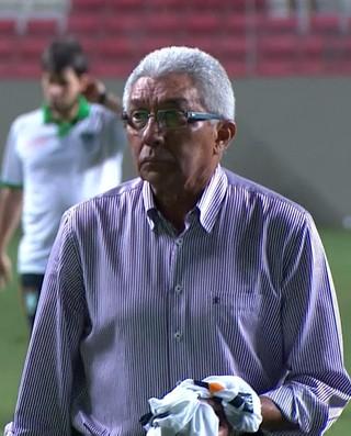 Givanildo Oliveira, técnico do América-MG (Foto: Reprodução /TV Globo Minas)