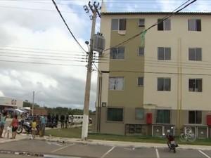 Caso aconteceu no Conjunto Macapaba, na Zona Norte de Macapá (Foto: Reprodução/TV Amapá)