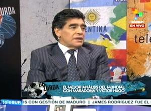 Maradona De Zurda (Foto: Reprodução / Twitter)