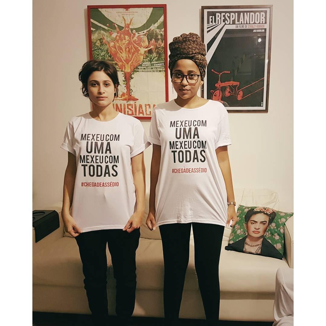 Luisa Arraes e Gabriela Bispo (Foto: Reprodução/ Instagram)
