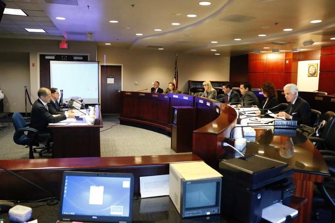 Audiência Wanderlei Silva Comissão Atlética de Nevada NAC (Foto: Evelyn Rodrigues)