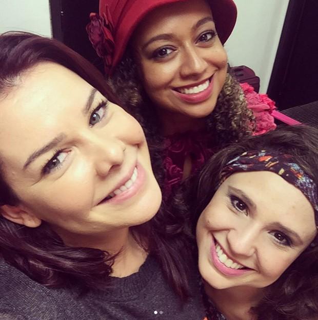 Fernanda Souza, Aretha Oliveira e Francis Helena (Foto: Reprodução)
