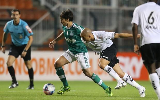 Valdivia, Palmeiras x Bragantino (Foto: José Patricio/Agência Estado)