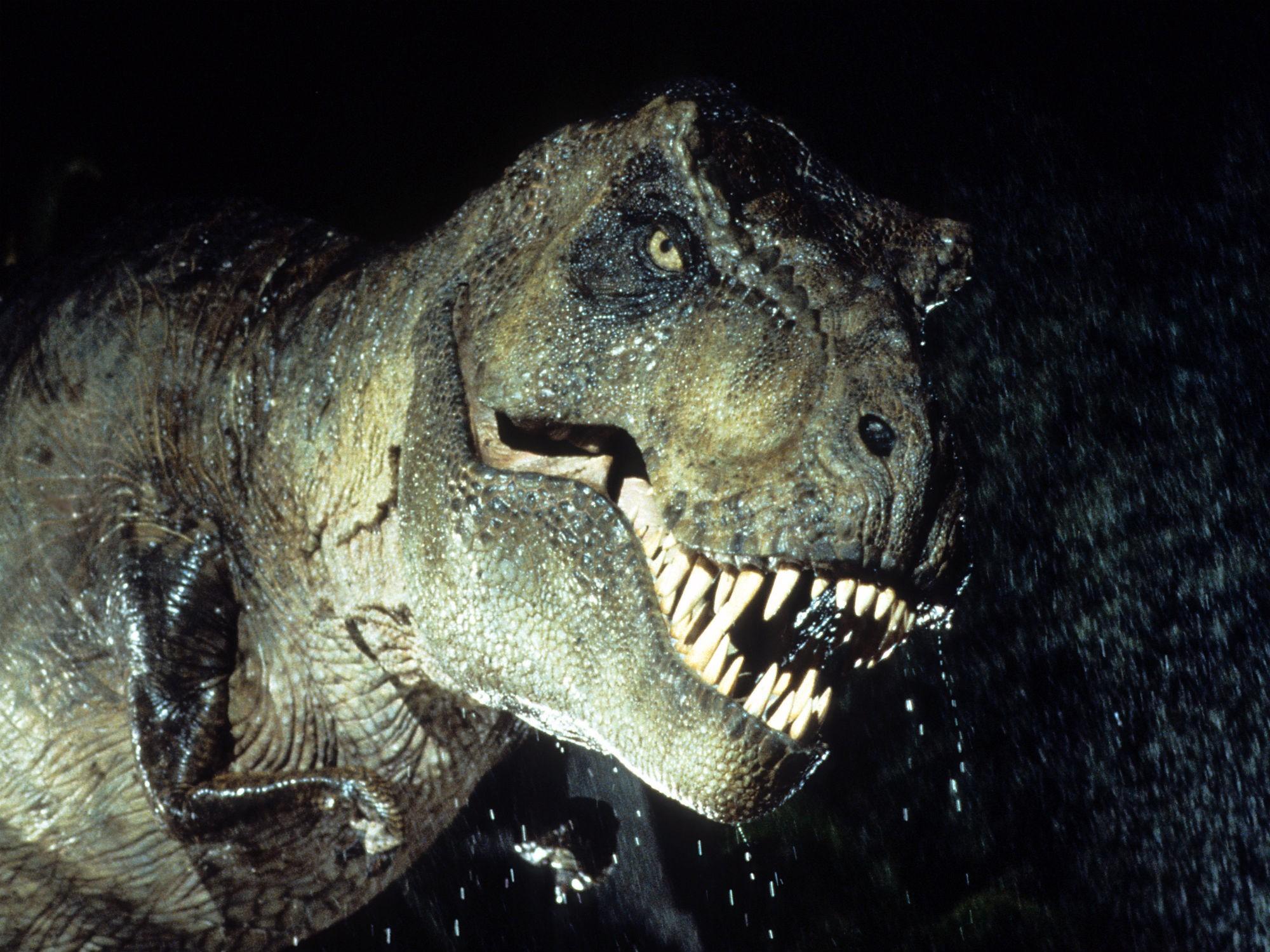 Não ria dos bracinhos do T-rex (Foto: Divulgação)