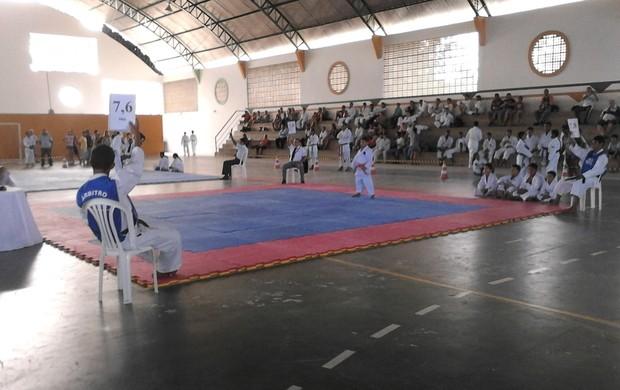 Disputa estadual de karatê (Foto: João Carlos / Divulgação)