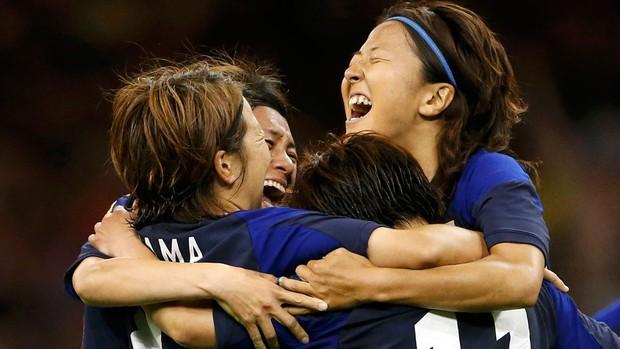shinobu ohno brasil x japão (Foto: Reuters)