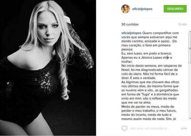 Jéssica Lopes (Foto: Reprodução/Instagram)