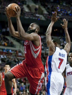 James Harden, Houston Rockets - AP (Foto: AP)