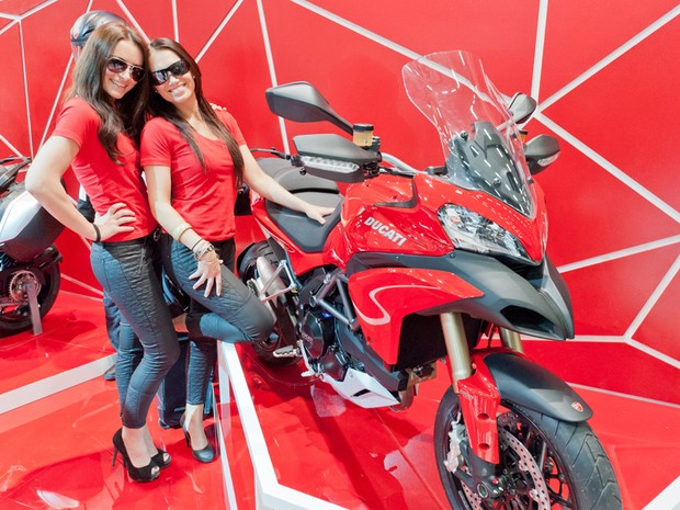Ducati Multistrada 1200 foi renovada pela fabricante italiana (Foto: Divulgação)