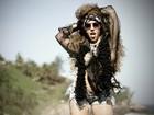 Mulher Melão pega carona do Rock in Rio e faz ensaio à la Serguei