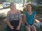 Praça vira ponto de encontro de mães de candidatos à UFRGS
