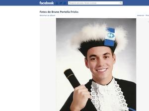 Bruno Portella Fricks, vítima de incêndio em Santa Maria, RS (Foto: Reprodução/RBS TV)